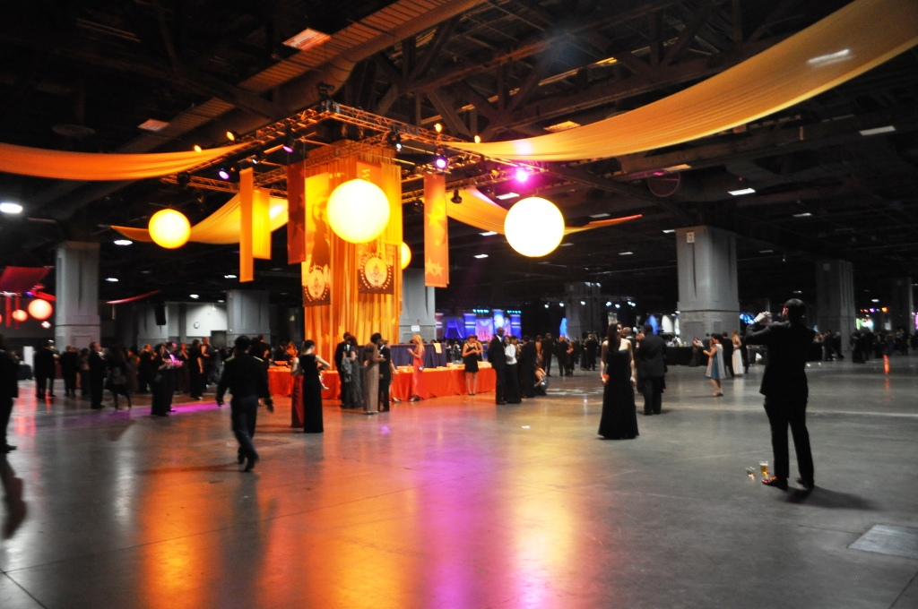 Snapshot of the Official Inaugural Ball - the One for Those Who Purchased Tickets from TicketMaster, Washington, D.C., Jan. 21, 2013