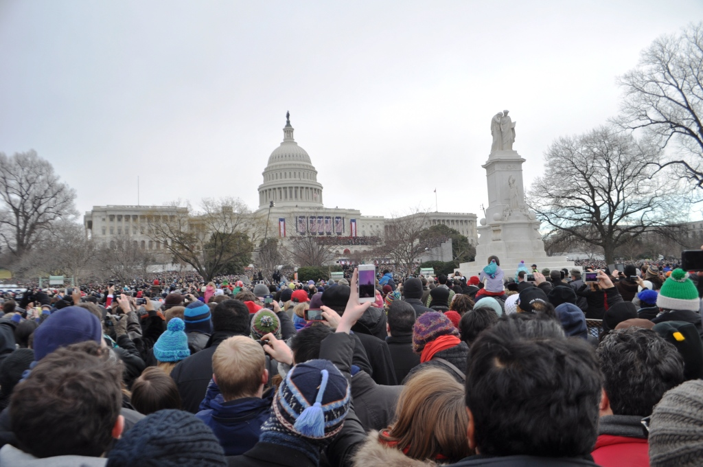 Swearing-in Ceremony of Barack Obama during the 57th Presidential Inauguration, Washington, D.C., Jan. 21, 2013