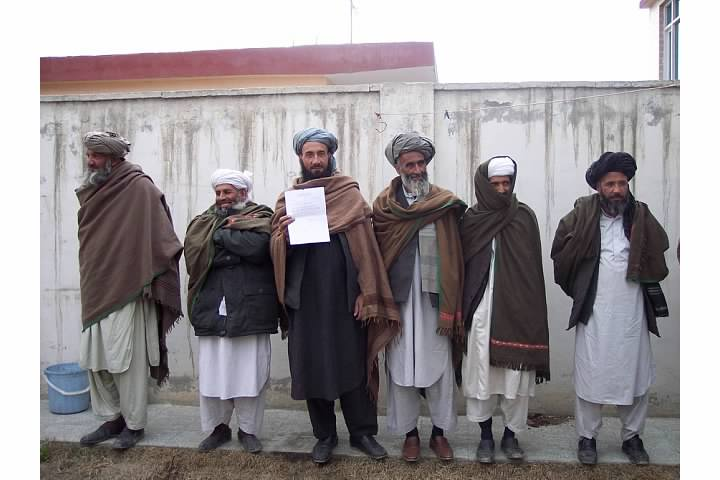 Members of a Tribe My Group Met at a Human Rights Organization in Afghanistan, March 2006