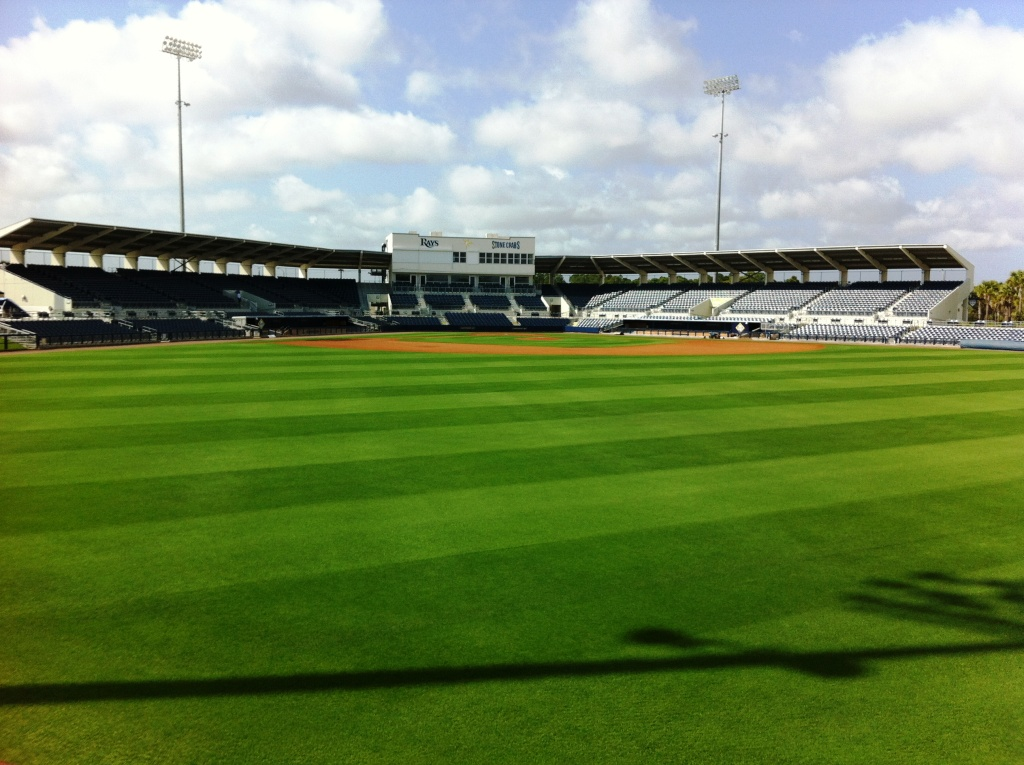 Tampa Bay Rays 2013 Spring Training Swings into Action