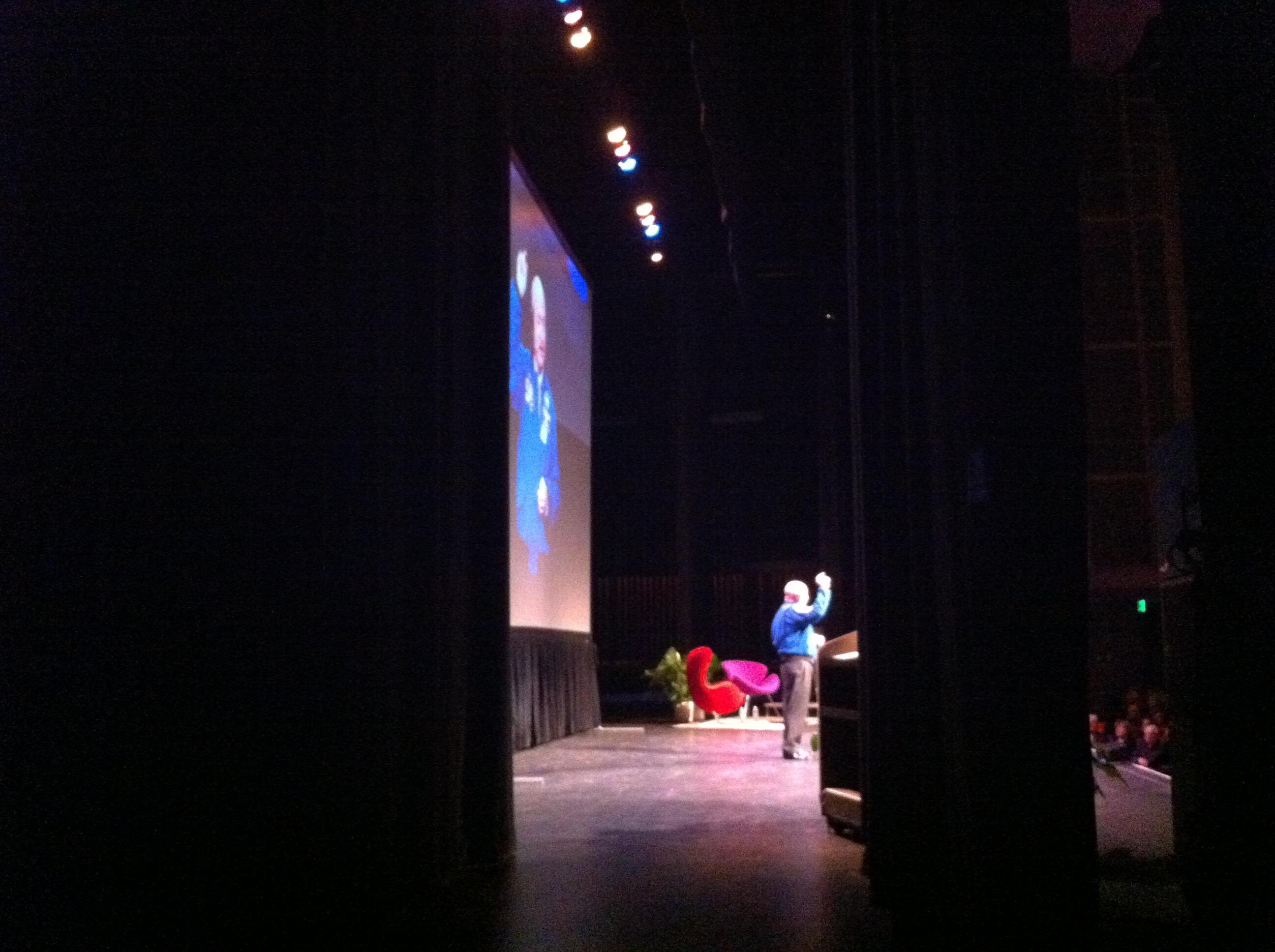 Capt. Mark Kelly Inspires Sarasota Audience