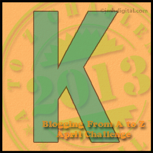 """Friday, April 12, is Brought to You by the Letter """"K"""""""