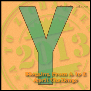 """Monday, April 29, is Brought to You by the Letter """"Y"""""""