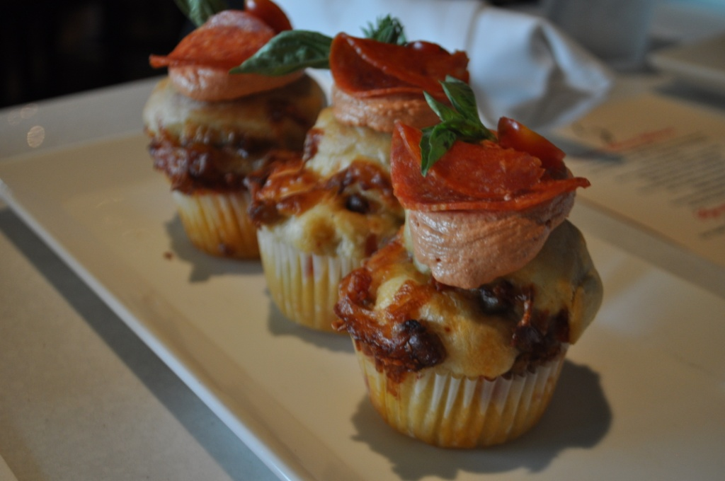 Pizza Cupcakes, Cupcake Lovers Weekend, Hilton Orlando Bonnet Creek, Orlando, Fla., June 15, 2013