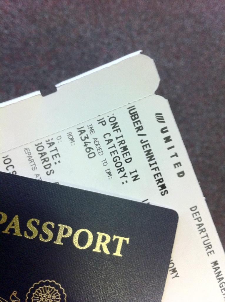 Have Passport, Will Travel!