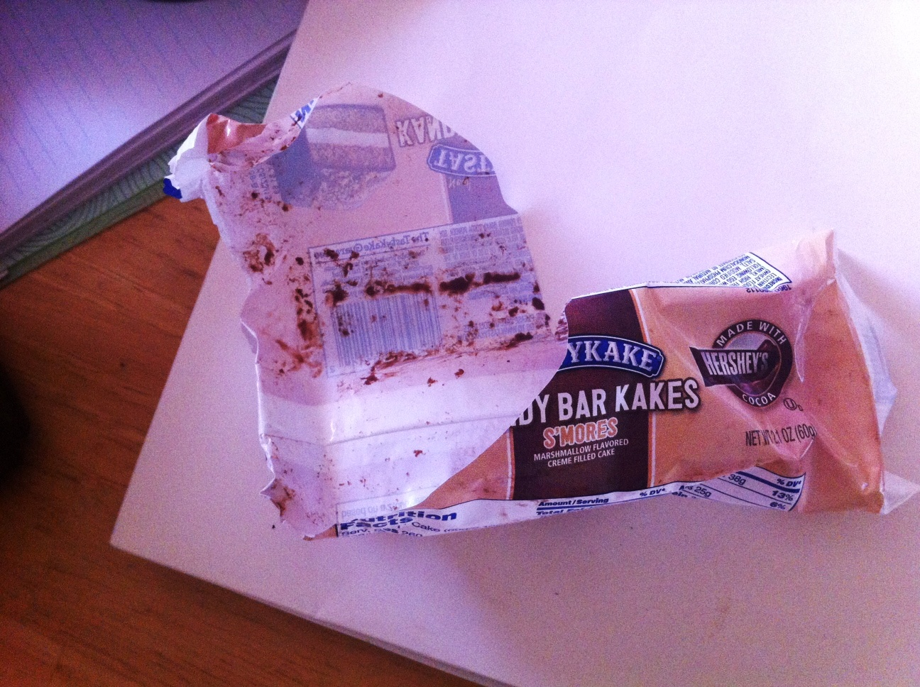 All gone! #TastyKake