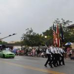 Wallenda Leads the Procession