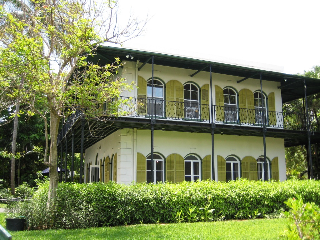 When Visiting Key West, Be Sure to Tour the Ernest Hemingway Home & Museum