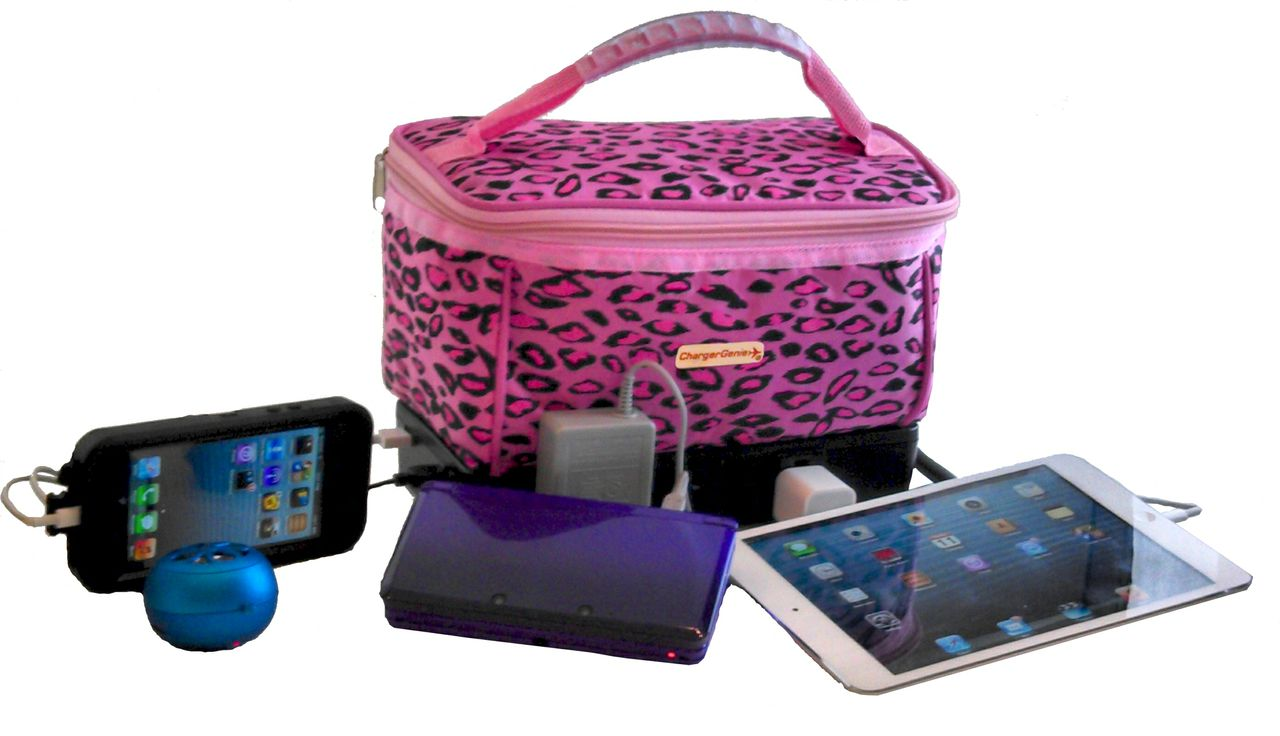 Don't You Want to Travel with This? ChargerGenie, World's First Charging Tote Bag.