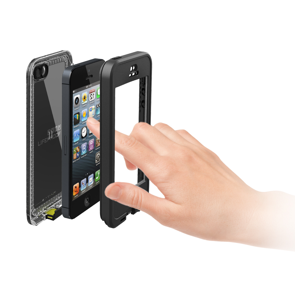 Look Ma! No Screen! LifeProof Nüüd Case for iPhone 5.