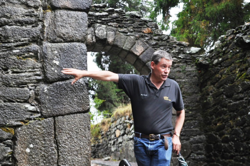 Denis O'Reilly of Wild Wicklow Tours is a Brilliant Storyteller
