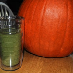 Green Pumpkin Spice Smoothie Recipe