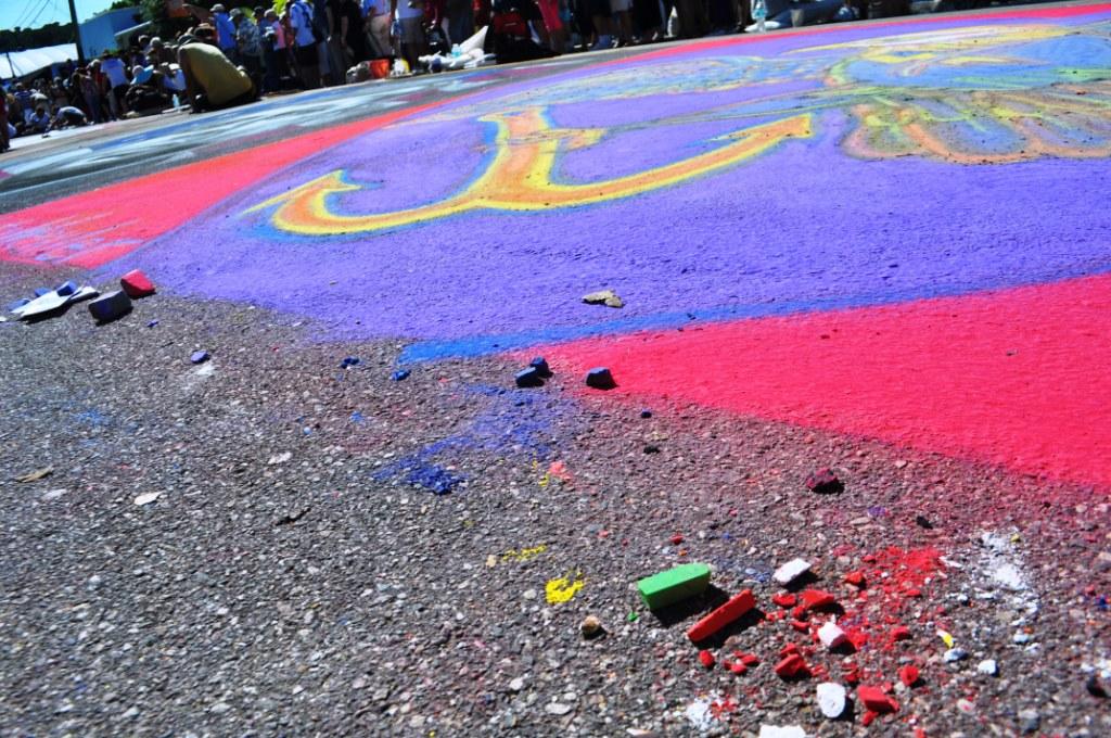 2013 Sarasota Chalk Festival, Nov. 17, 2013