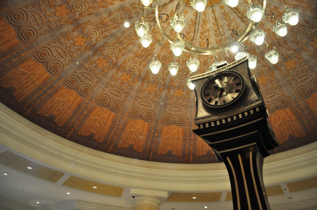When Visiting Bear & Bull Restaurant, Take Time to Enjoy the Waldorf Astoria Orlando's Lobby