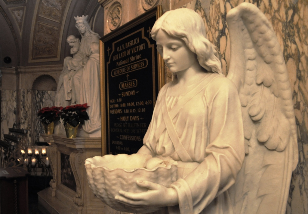 One of the 1,500 - 2,500 Angels in Our Lady of Victory National Shrine and Basilica, Lackawanna, N.Y., Near Buffalo