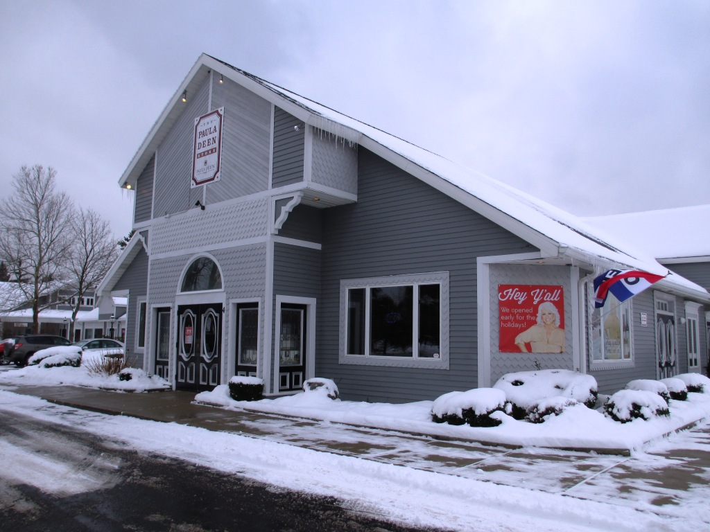 Now it Makes Sense Why there's a Paula Deen Store in Buffalo - it's the Nanco Group Connection, a Buffalo-based Company