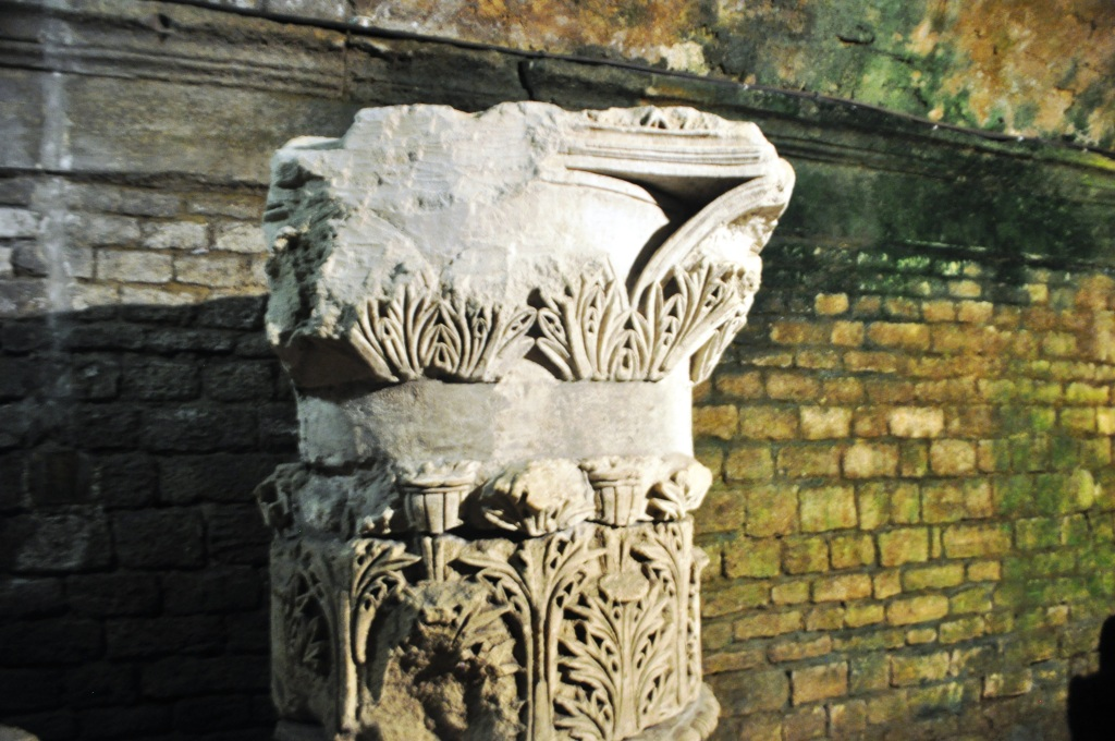This Roman Column in the Cryptoporticus in Arles, France, is from 21 B.C.