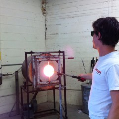 Putting My Hot Air to Work With Glassblowing in Staunton, Va.