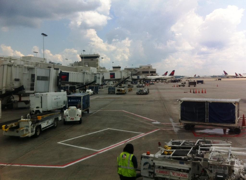 Delta Terminal at the Hartsfield–Jackson Atlanta International Airport