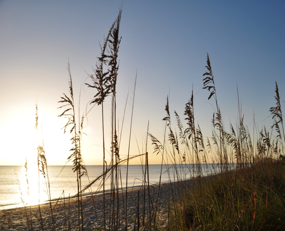A Tuesday Sunset at Stump Pass Beach State Park, Manasota Key, Englewood, Fla., Aug. 26, 2014