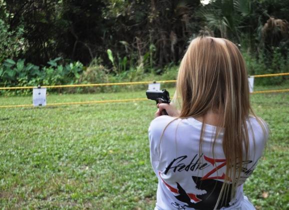 What Scary Thing Did I Do Last Week? Fire a Daisy B.B. Gun Pistol
