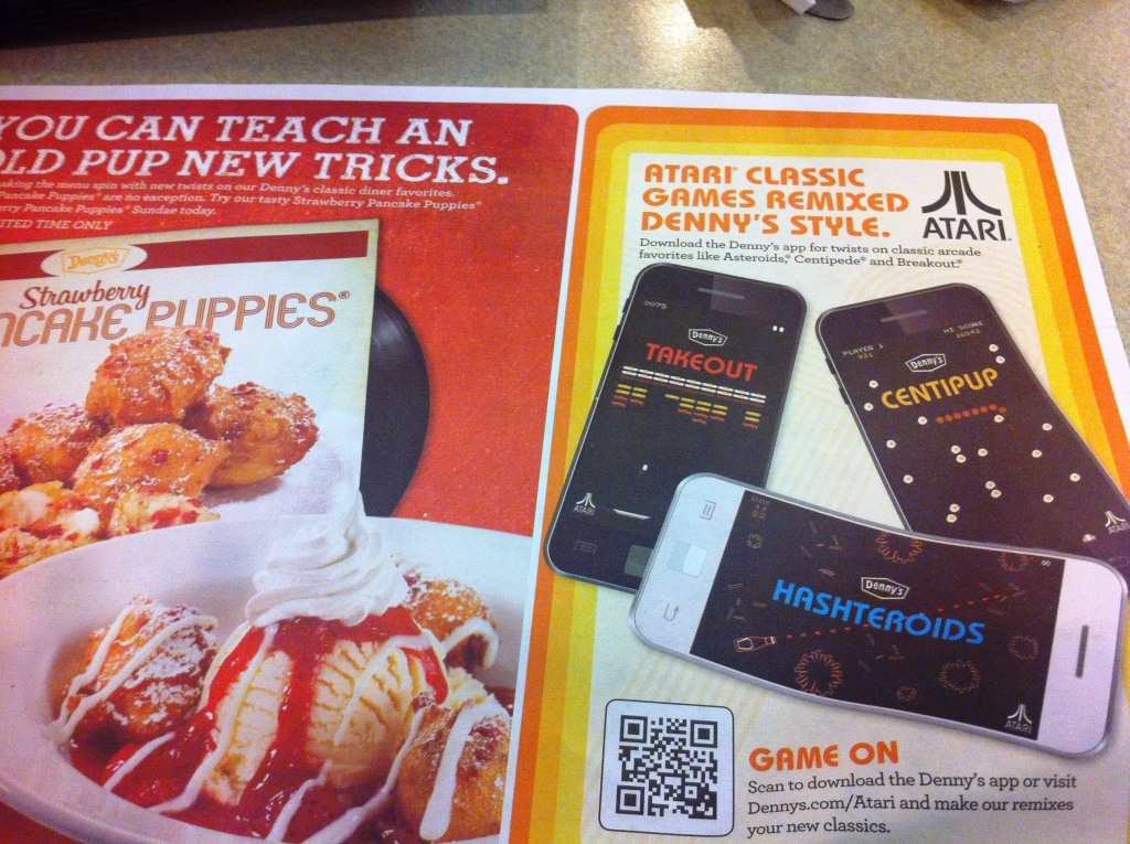 Denny's Placemat