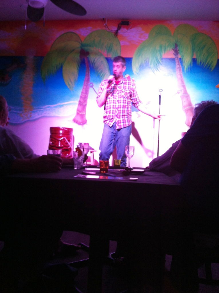 Comedian Stu McCallister Taskes the Stage at the Old Naples Comedy Club, Nov. 14, 2014