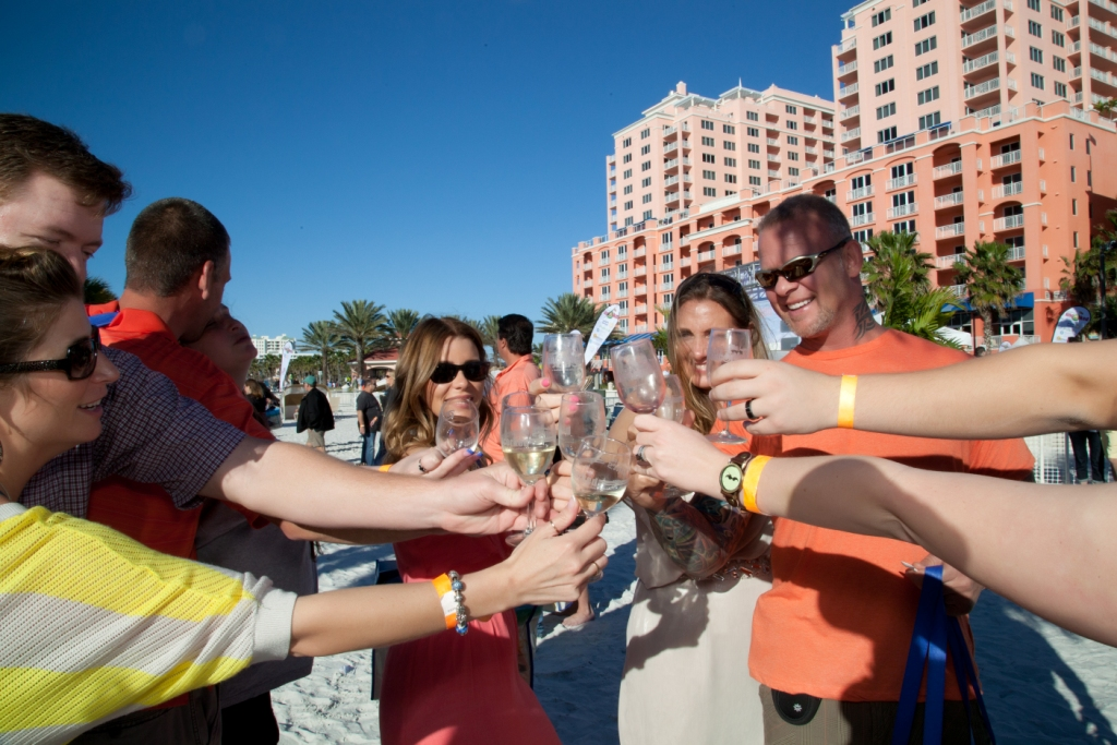 Cheers! Clearwater Beach Uncorked 2015 is Feb. 7 & 8