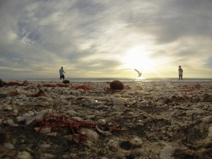 Evening on Englewood Beach with My GoPro Hero 3 - Solo ...