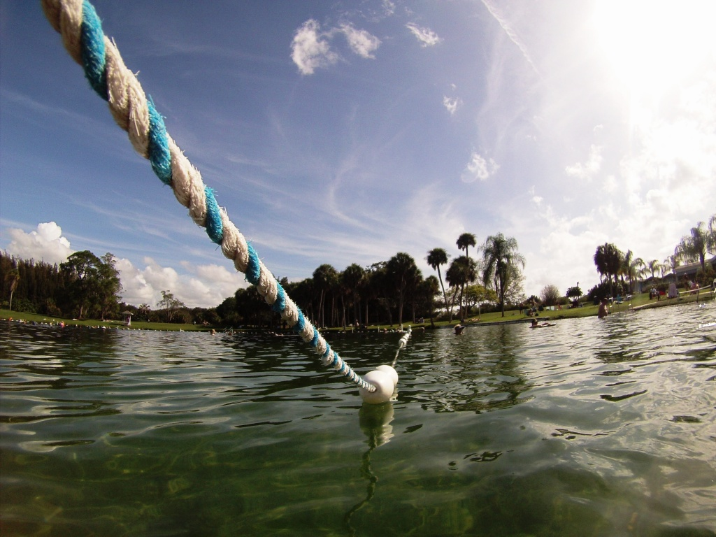 Warm Mineral Springs in North Port, Fla.