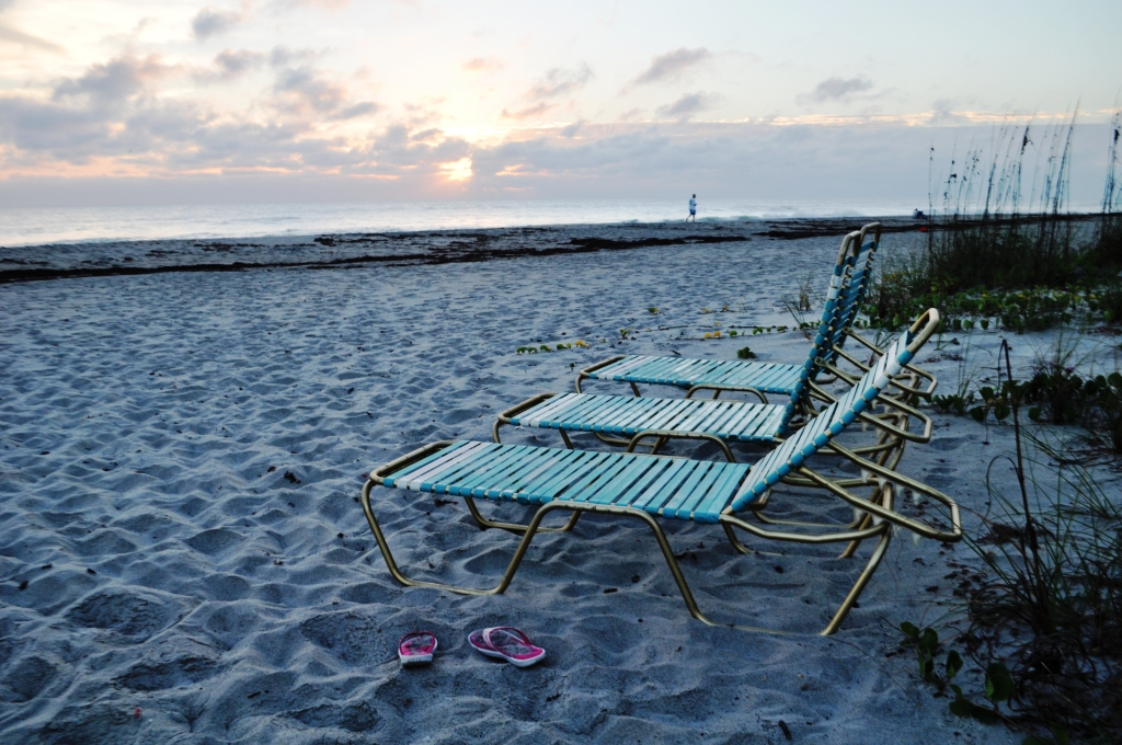 Sunrise from the Beach at Tuckaway Shores on Florida's Space Coast