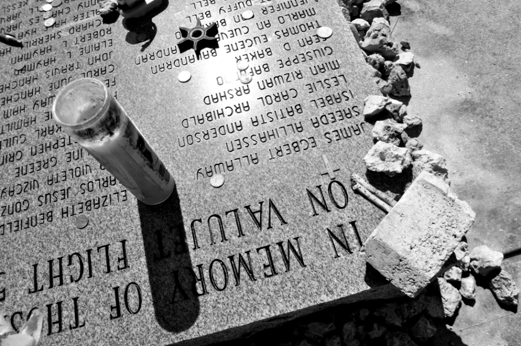 Mementos Left at the Flight 592 Memorial, Near Miami, Fla., Feb. 14, 2015