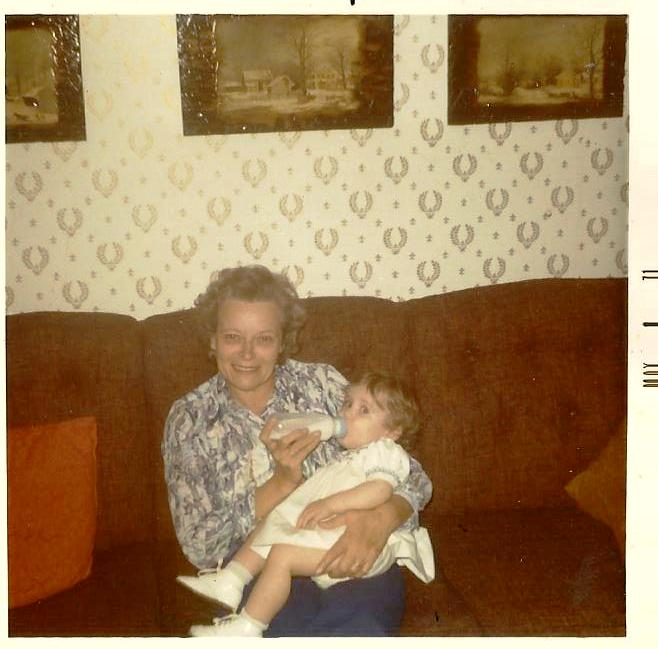 Grandma Huber and Me, 1971