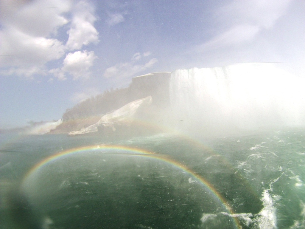 Niagara Falls as Viewed from Maid of the Mist, May 3, 2015