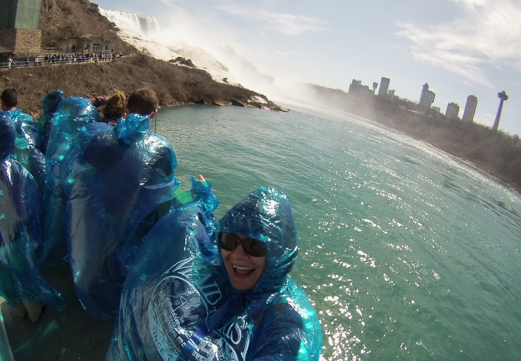 #Selfie on the Maid of the Mist Boat Tour in Niagara Falls, N.Y., May 1, 2015