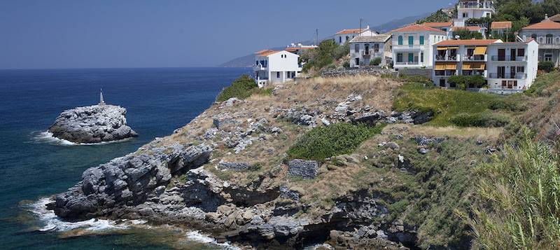 Travel to a Blue Zone, Ikaria, Greece to Discover Keys to Longevity.