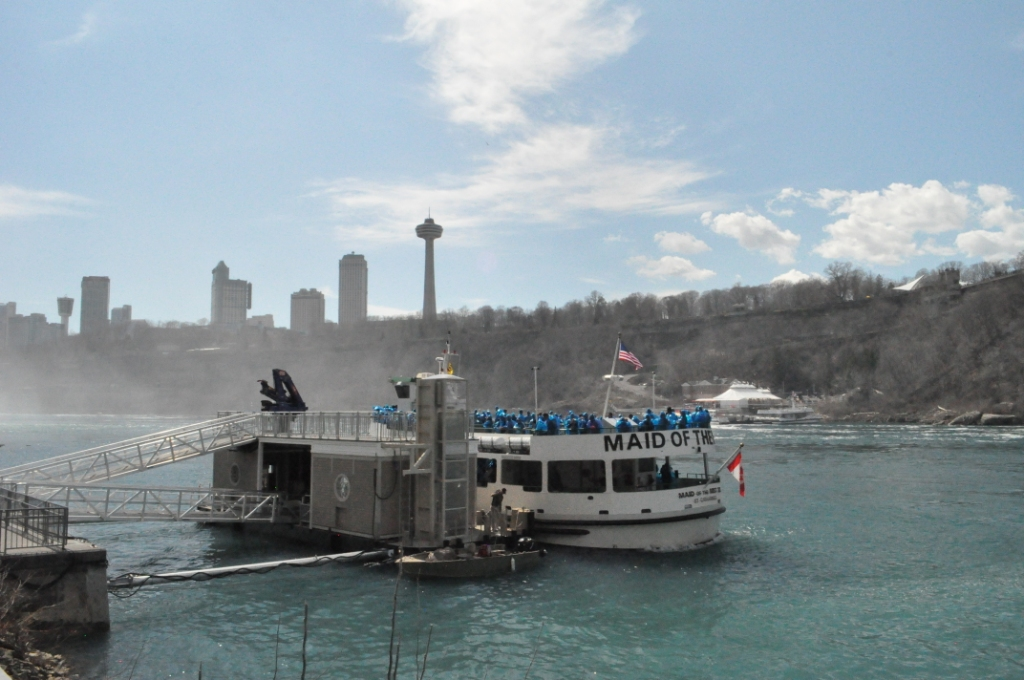 Maid of the Mist, Niagara Falls, U.S.A.
