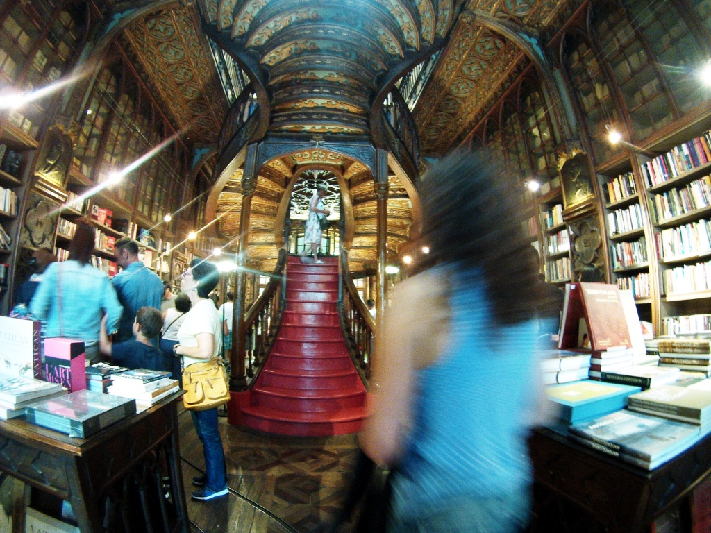 Walking into Livraria Lello Was Like Stepping into a Harry Potter Novel, Porto, Portugal
