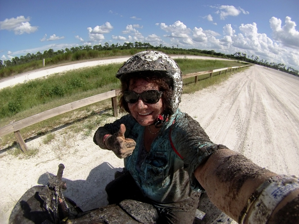 #MudSelfie After Riding an ATV Through Florida Tracks & Trails' Trail 3, Punta Gorda, Fla., Sept. 20, 2015