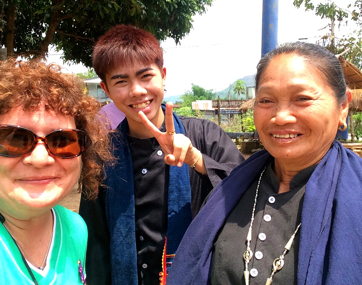 My New Tai Dam Friends, Loei Province, Thailand, March 2015
