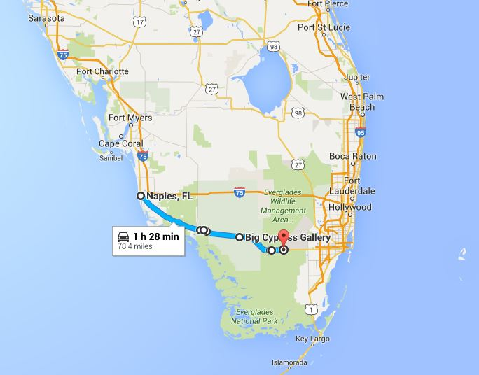 Florida Road Map 2015.Take A Drive On The Wild Side U S 41 Road Trip Across The Florida