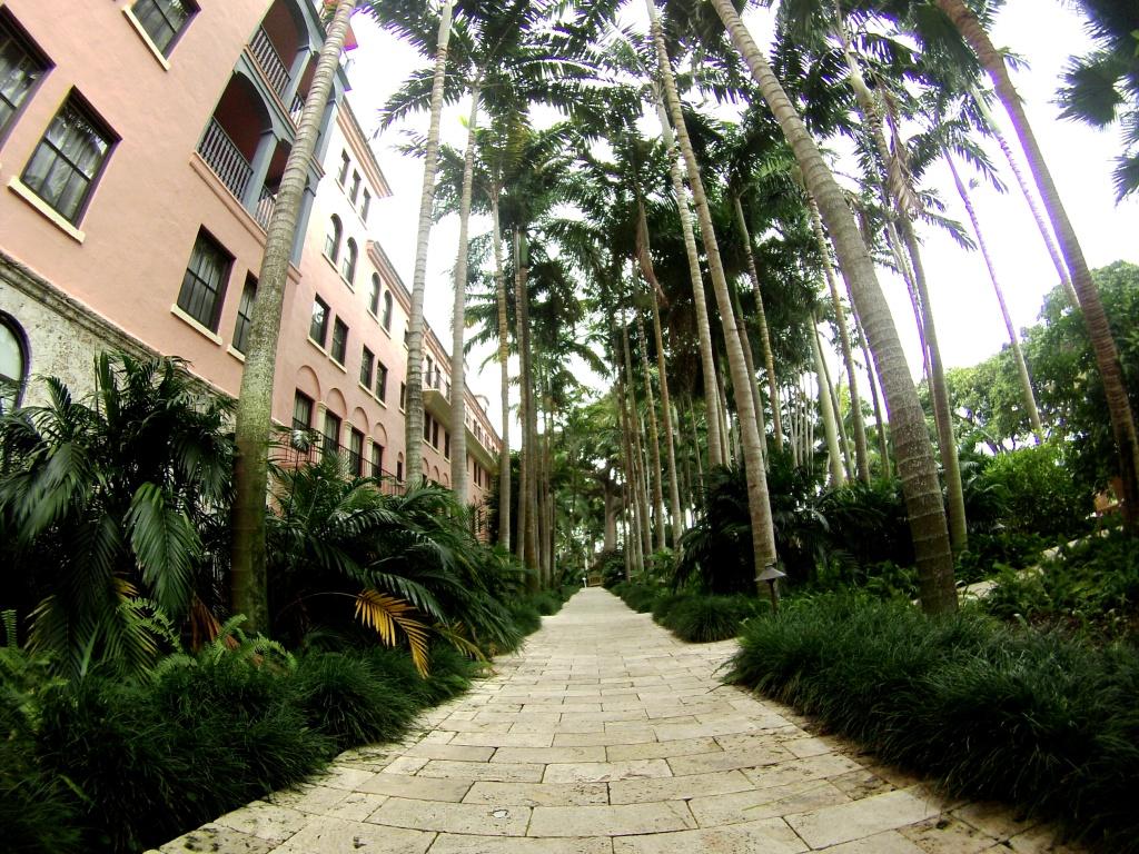 Grounds of the Landmark Boca Raton Resort & Club, Boca Raton, Fla., Nov. 15, 2015