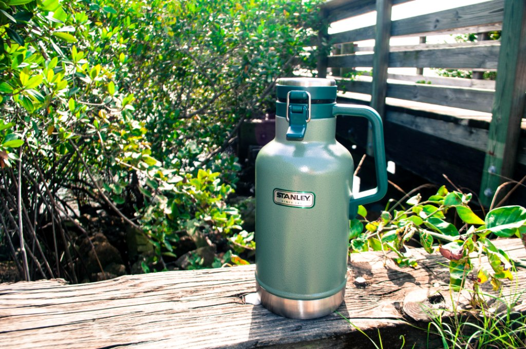 The Stanley Vacuum Steel Growler for Draft Beer Outdoor Adventurers