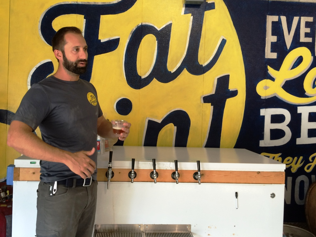 Fat Point Brewing's Brewmaster, Bill Frazer