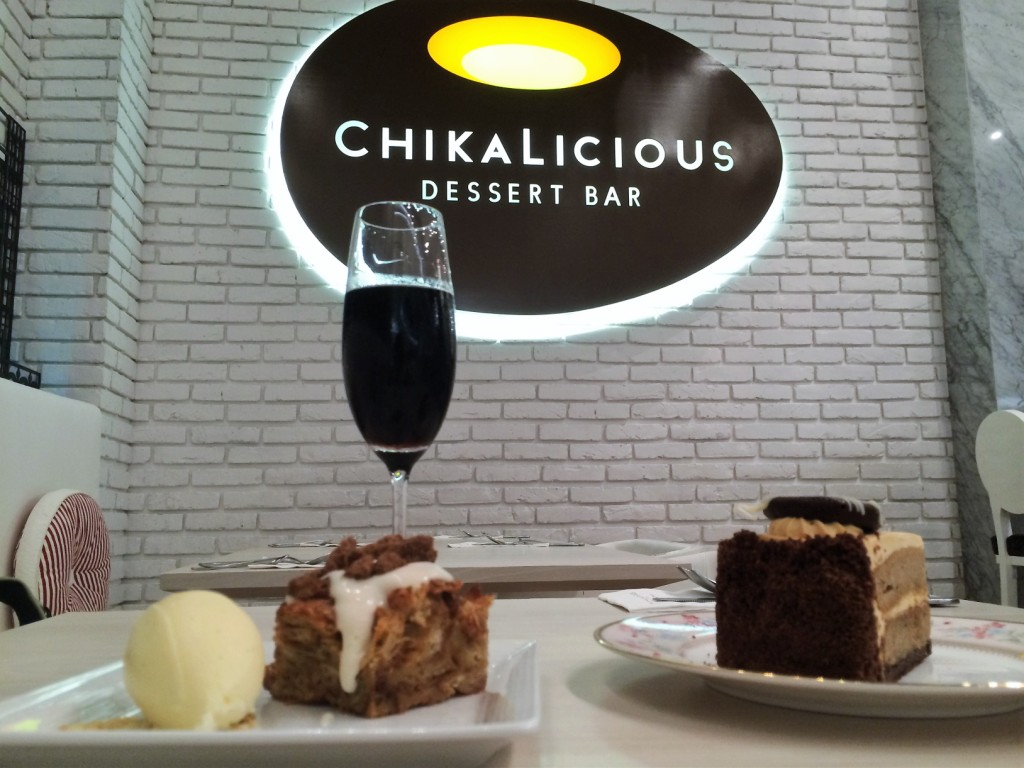 Chikalicious Dessert Bar in Central Embassy in Bangkok, Thailand, March 2015.