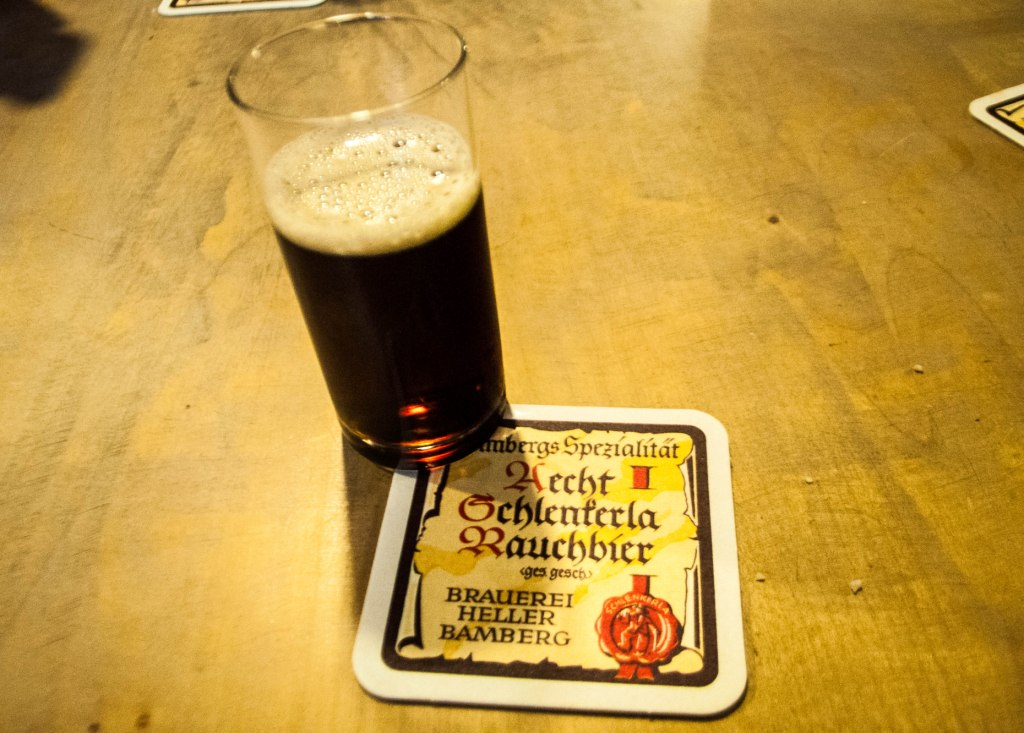 Rauchbier, or Smokebeer, Tastes Like Bacon But Isn't Everyone's Cup of Tea, Bamberg, Germany.