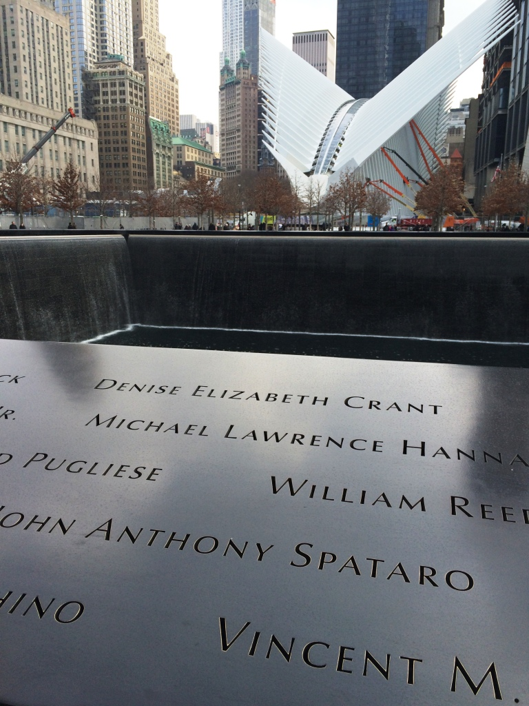 Her Name at the 9/11 Memorial