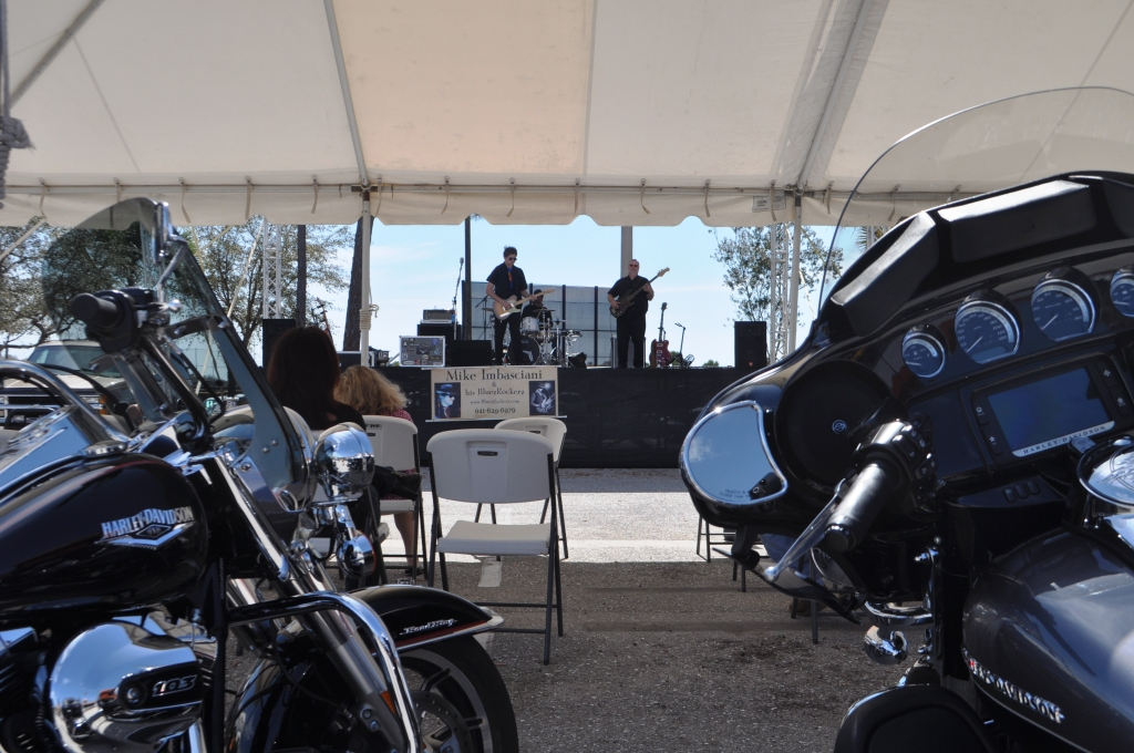 Live Entertainment Saturdays and Sundays and Bert's Black Widow Harley-Davidson in Port Charlotte, Fla.