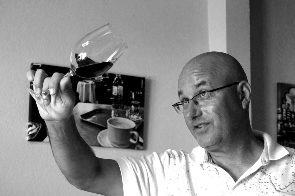 Bernhard Weidinger, Owner of Tina's Cafe & Bakery Vienna During A Taste of Vienna Wine Tasting in Punta Gorda, Fla., May 2016.