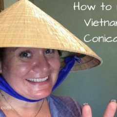How to Pack a Vietnamese Hat